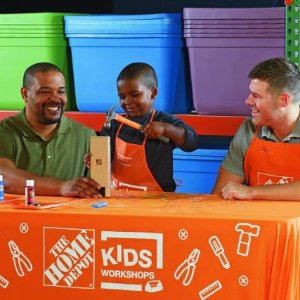 PeriscopeKids Workshop @ Home Depot