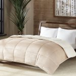 Reversible Micro Velvet And Sherpa Down Alternative Comforter, Hypoallergenic