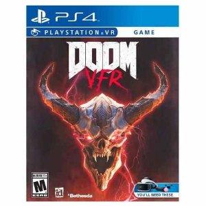 $14.99 (原价$29.99)《毁灭战士VFR》 PS4 VR 游戏