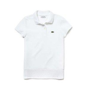 $41.99 (原价$60)Lacoste 儿童短袖Polo 3色可选