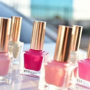 3/$29 5/$39 on Nail Polish +Free Top Coat with any Purchase of 3 Nail Polish @ Eve By Eves