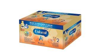 $45.3 (原价$52.99)Enfamil A+2 婴儿配方液体奶 18 x 237ml