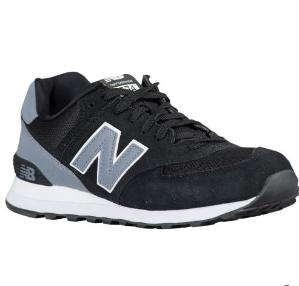 $44New Balance 574 Men's Running Shoes Black Sale