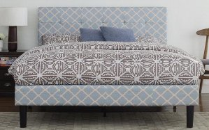 $125Weave Classic Fabric Bed, Full Size