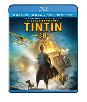 $9The Adventures of Tintin 3D + DVD + Blu-ray + Digital