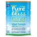 $78.16 Pure Bliss by Similac Infant Formula, Starts with Fresh Milk from Grass-Fed Cows, Baby Formula, 31.8 ounces, 4 Count