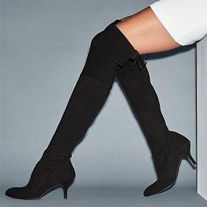 $359.1(Value $798) Stuart Weitzman Thigh High Suede Boots @ Stuart Weitzman