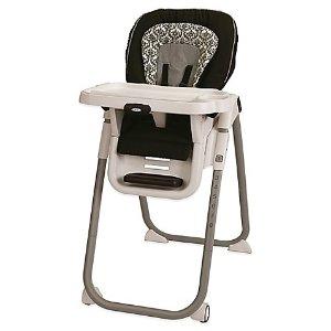 $57.59 需注册获取8折码Graco Tablefit 婴儿高脚餐椅