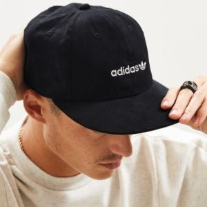 $4adidas Faux Suede Relaxed Strapback Hat