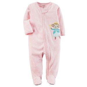 Buy 1 Get 2 Free1- Piece Fleece Pajamas @ Carter's