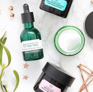 20% OffSkin Care Sale @ The Body Shop