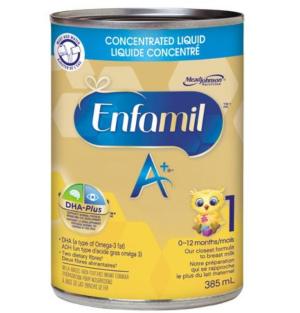 $46.27(原价$52.98)Enfamil A+ 美赞臣 1段即开即用液体奶12×358ml