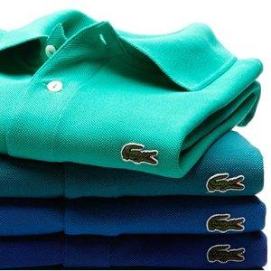 低至5折Lacoste 夏季男士服饰热卖