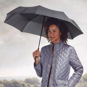 $9AmazonBasics Automatic Travel Umbrella, with Wind Vent, Black