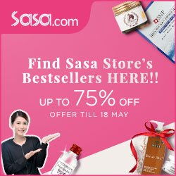 Up To 75% OffBesterllers @ Sasa.com