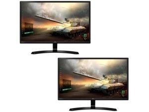 两个仅需 $275LG 27寸 1920x1080 全高清 IPS 显示器 2个