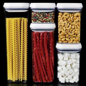 $35OXO 密封式食物储存罐5件套