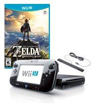 $139Nintendo Wii U 32GB Breath of the Wild Pre-Owned System Bundle