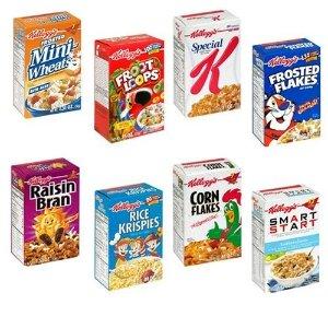 $2.97起 (原价$4.97)精选多款 Kellogg's 早餐速食营养麦片 特卖