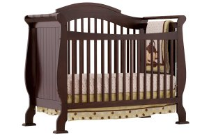 $179(原价$350)史低价:Storkcraft Valentia  4合1 实木婴儿床