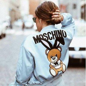 全场8.8折Moschino 全场热卖 快来收敲可爱小熊T恤
