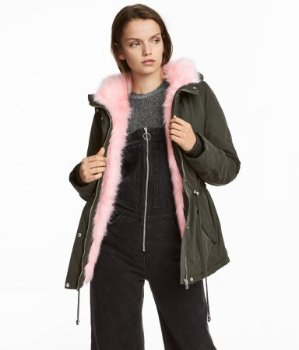 Up to 70% OffParka @ H&M
