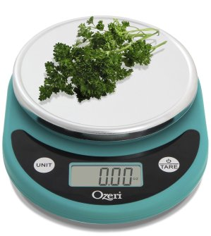 $11.69 (原价$19.49)限今天:Ozeri ZK14-T 厨房专用电子秤,3色选