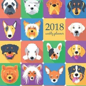 2018 狗年限量笔记本新年新目标,小清新风笔记本,写写画画记录心情