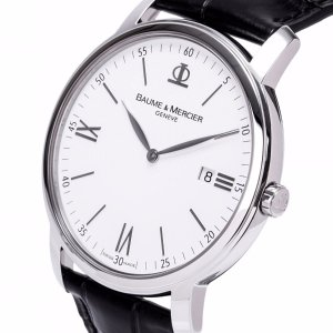 $599 (原价$1750)史低价:Baume & Mercier Classima Executives 系列时装男表 两色款