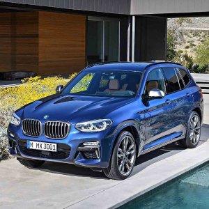 俊朗新面孔,豪华革新全新 2018 BMW X3 中型SUV