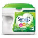 Similac Advance Step 2 不含转基因原料配方奶粉, 658g