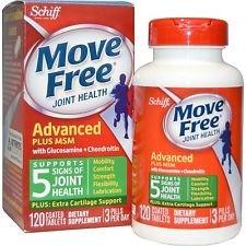 $13.29 买5额外8.5折Move Free MSM维骨力(绿盒)120片装