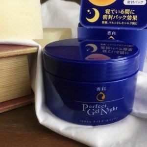 $8.7 / RMB57.9 直邮美国粉丝晒货 资生堂 专科 蚕丝蛋白 高保湿凝胶 夜用面霜 100g 史低价