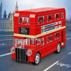 满$75送封面迷你伦敦巴士LEGO®官网 12月限时购物享好礼,星战方头仔降价