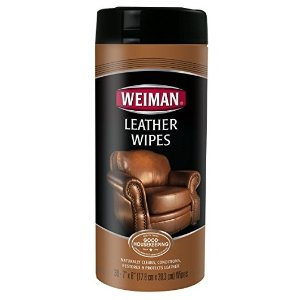 $3Weiman Leather Wipes - Cleaner & Conditioner, 30 count