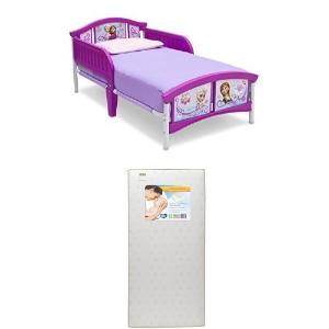 $48Delta Children 冰雪奇缘儿童床+床垫