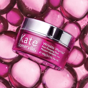 Receive a complimentary duo of mini Wrinkle Warrior + Wrinkle Warrior EyeWith any Wrinkle Warrior Mask purchase @ Kate Somerville