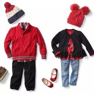 Extra 40% Off + Free ShippingKid's Clothing @ Gap