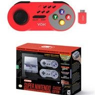 $94.99Super NES Classic + Red Wireless Controller Bundle