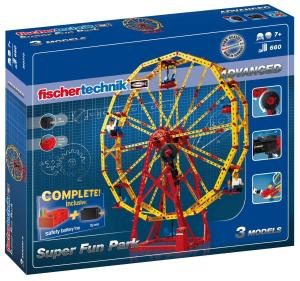 $77.55创意模型: 德国慧鱼fischertechnik超级游乐园益智拼插玩具