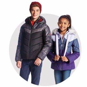 $19.97London Fog Kids' Puffer Coats @ Bon-Ton