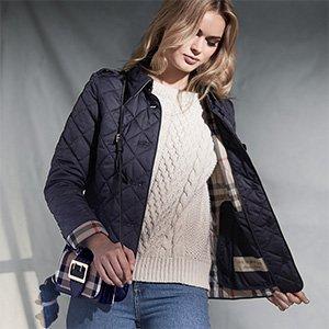 低至4.7折 经典夹克$499入手Burberry精选男女服饰、鞋包闪购 收超正英伦范儿风衣