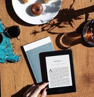 $119.99(原价$139.99)Kindle Paperwhite 6寸墨水屏高分辨率带背光电子阅读器 黑色款