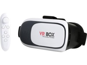 $0.99Refurbished: VR Box Headset with Bluetooth Remote Control Included - A Grade Like New