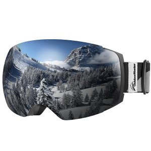 From $18.99OutdoorMaster Ski Goggles PRO - Frameless, Interchangeable Lens Snow Goggles for Men & Women - 100% UV Protection