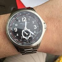 $399 (Orig$1,245)Hamilton Men's Khaki Aviation QNE Watch Model: H76655133
