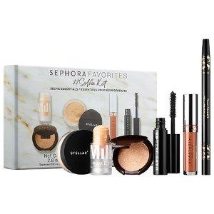 $28.00 (价值$100.00)SEPHORA FAVORITES 彩妆套装 包括BECCA高光、Anastasia唇釉