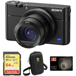 $948Sony RX100 V Camera + 64GB Sandisk SDXC + $50 GC