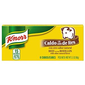 $0.78 Knorr Cube Bouillon, Beef 3.1 oz, 8 ct
