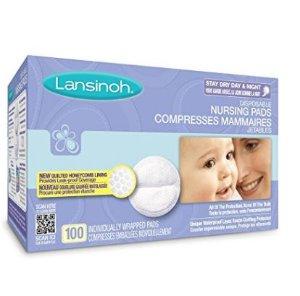 CDN$12哺乳期妈妈必备~ Lansinoh Disp. 一次性防溢乳垫,100片